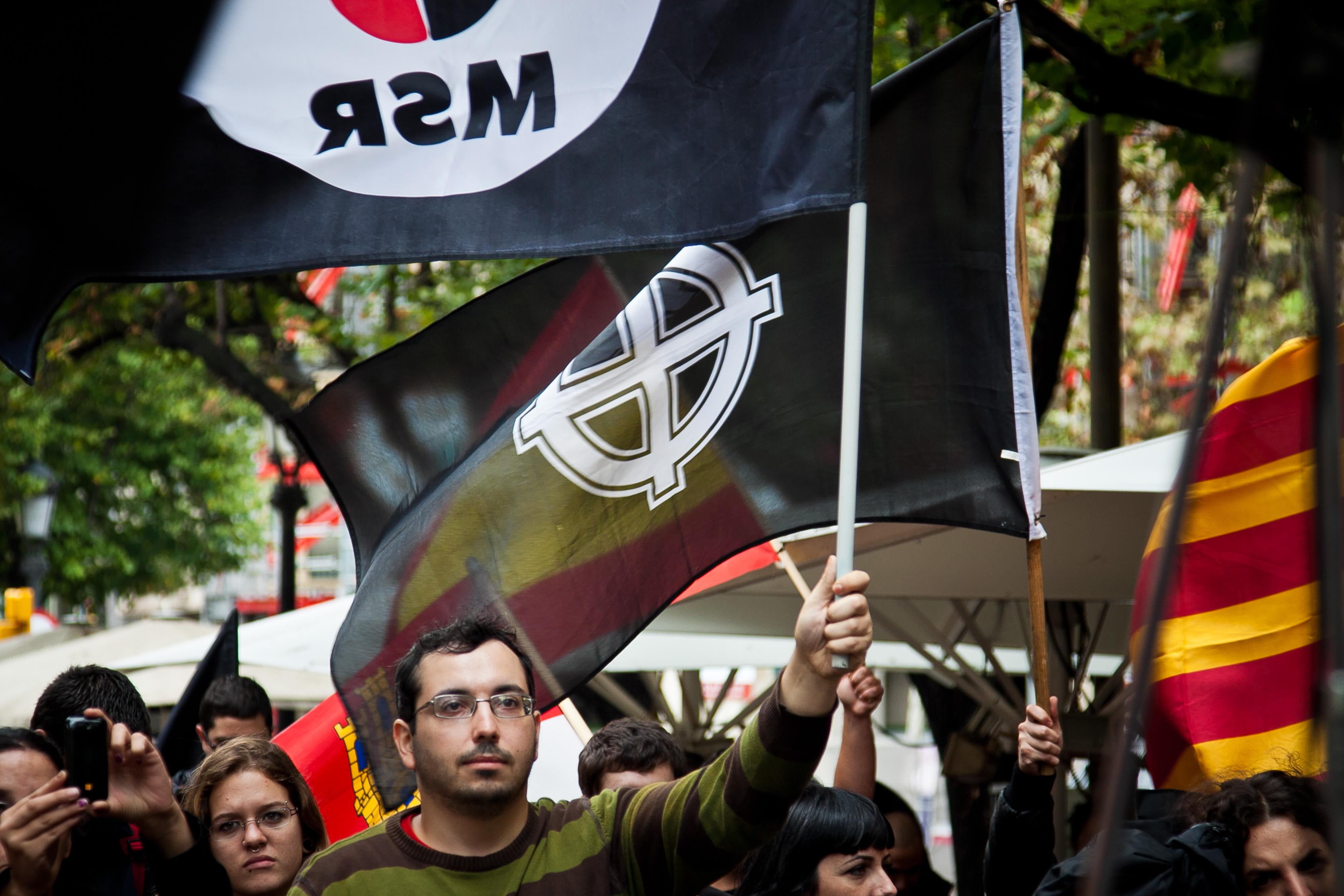 Manifestació MSR