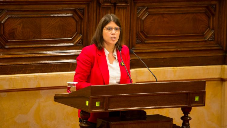 Gemma Geis. PARLAMENT DE CATALUNYA (Job Vermaulen)