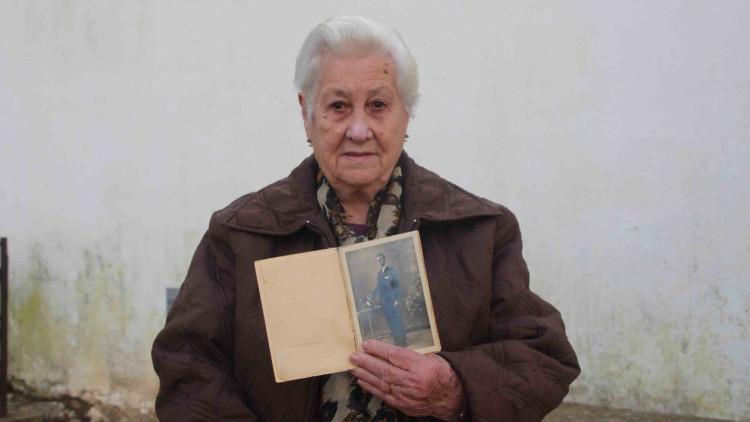 María Monfort té 91 anys. Busca les restes del seu pare, que fou afusellat el 29 de maig de 1941. EL TEMPS