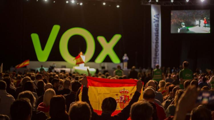 Acte del partit ultradretà Vox| @vox_es