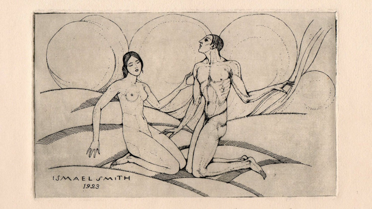 Adam i Eva, 1923. Ismael Smith